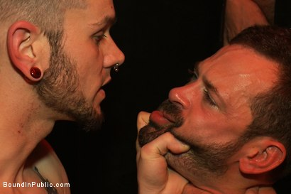 Photo number 8 from Inside Mack Prison - Sex Club shot for Bound in Public on Kink.com. Featuring Will Swagger and Josh West in hardcore BDSM & Fetish porn.