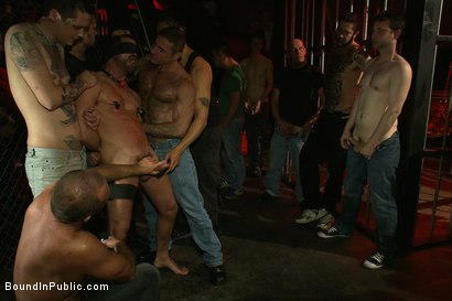 Photo number 1 from Inside Mack Prison - Sex Club shot for Bound in Public on Kink.com. Featuring Will Swagger and Josh West in hardcore BDSM & Fetish porn.