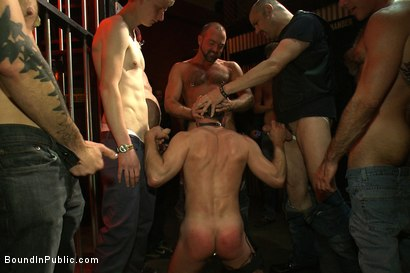 Photo number 4 from Inside Mack Prison - Sex Club shot for Bound in Public on Kink.com. Featuring Will Swagger and Josh West in hardcore BDSM & Fetish porn.
