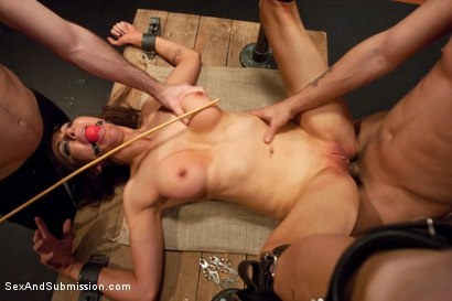 Photo number 9 from Best of SAS: Princess Donna Destroyed!!! shot for Sex And Submission on Kink.com. Featuring Princess Donna Dolore, James Deen and Mr. Pete in hardcore BDSM & Fetish porn.