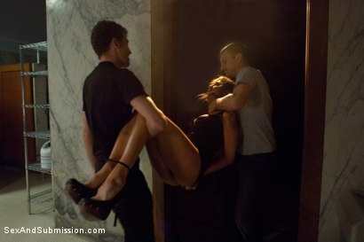 Photo number 3 from Best of SAS: Princess Donna Destroyed!!! shot for Sex And Submission on Kink.com. Featuring Princess Donna Dolore, James Deen and Mr. Pete in hardcore BDSM & Fetish porn.