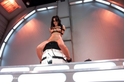 Photo number 13 from Alien Machines Take Breanne Benson To Orbit Orgasms shot for Fucking Machines on Kink.com. Featuring Breanne Benson in hardcore BDSM & Fetish porn.