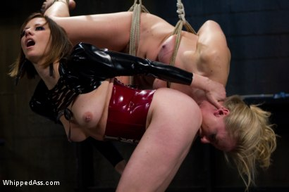 Photo number 4 from Farewell Dia Zerva shot for Whipped Ass on Kink.com. Featuring Dia Zerva and Maitresse Madeline Marlowe in hardcore BDSM & Fetish porn.