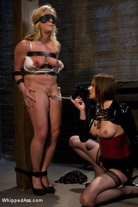 Photo number 2 from Farewell Dia Zerva shot for Whipped Ass on Kink.com. Featuring Dia Zerva and Maitresse Madeline Marlowe in hardcore BDSM & Fetish porn.