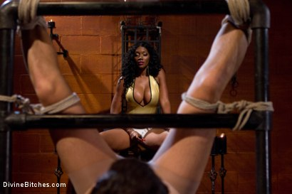 Photo number 5 from From Worthless To Worthy In Five Mistresses: Episode 2 shot for Divine Bitches on Kink.com. Featuring Scout and Nyomi Banxxx in hardcore BDSM & Fetish porn.