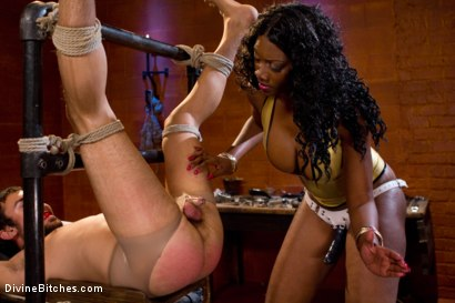 Photo number 7 from From Worthless To Worthy In Five Mistresses: Episode 2 shot for Divine Bitches on Kink.com. Featuring Scout and Nyomi Banxxx in hardcore BDSM & Fetish porn.