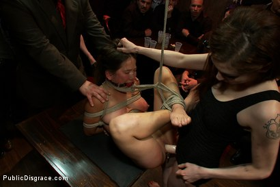 Photo number 12 from Hot Amateur SQUIRTER Does her First Boy/Girl Sex Scene Ever and Cums in Front of a Large Crowd shot for Public Disgrace on Kink.com. Featuring James Deen, Vai and Princess Donna Dolore in hardcore BDSM & Fetish porn.