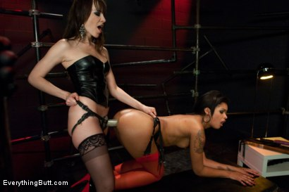 Photo number 8 from Diamond in the Rough shot for Everything Butt on Kink.com. Featuring James Deen, Dana DeArmond and Skin Diamond in hardcore BDSM & Fetish porn.