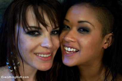 Photo number 15 from Diamond in the Rough shot for Everything Butt on Kink.com. Featuring James Deen, Dana DeArmond and Skin Diamond in hardcore BDSM & Fetish porn.