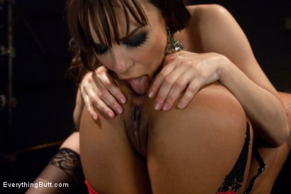 Photo number 6 from Diamond in the Rough shot for Everything Butt on Kink.com. Featuring James Deen, Dana DeArmond and Skin Diamond in hardcore BDSM & Fetish porn.