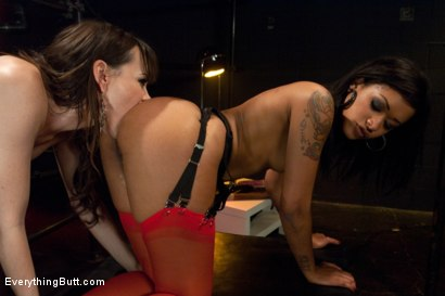 Photo number 5 from Diamond in the Rough shot for Everything Butt on Kink.com. Featuring James Deen, Dana DeArmond and Skin Diamond in hardcore BDSM & Fetish porn.