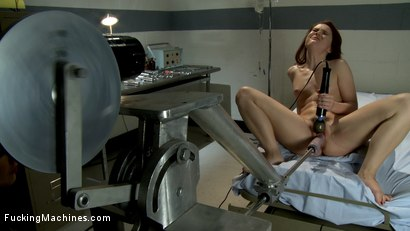 Photo number 1 from The Princess and The Machines   The Girl Next Door Never Thought Her Pussy Could Stretch So Much shot for Fucking Machines on Kink.com. Featuring AnnaBelle Lee and Princess Donna Dolore in hardcore BDSM & Fetish porn.