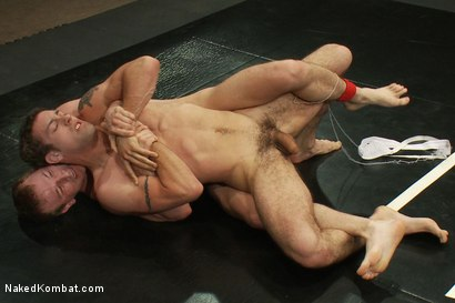 Photo number 8 from DJ vs Cameron shot for Naked Kombat on Kink.com. Featuring Cameron Adams and DJ in hardcore BDSM & Fetish porn.