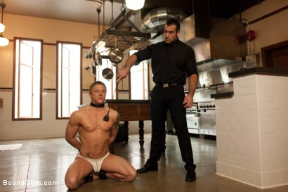 Photo number 1 from Spencer Reed and Phillip Aubrey Part Two<br/>Real Life Couple Series shot for Bound Gods on Kink.com. Featuring Spencer Reed and Phillip Aubrey in hardcore BDSM & Fetish porn.