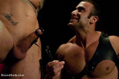Photo number 8 from Spencer Reed and Phillip Aubrey Part Two<br/>Real Life Couple Series shot for Bound Gods on Kink.com. Featuring Spencer Reed and Phillip Aubrey in hardcore BDSM & Fetish porn.
