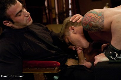 Photo number 6 from Spencer Reed and Phillip Aubrey Part Two<br/>Real Life Couple Series shot for Bound Gods on Kink.com. Featuring Spencer Reed and Phillip Aubrey in hardcore BDSM & Fetish porn.