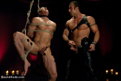 Photo number 7 from Spencer Reed and Phillip Aubrey Part Two<br/>Real Life Couple Series shot for Bound Gods on Kink.com. Featuring Spencer Reed and Phillip Aubrey in hardcore BDSM & Fetish porn.