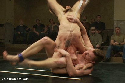 Photo number 9 from Trent Diesel & Sebastian Keys vs Leo Forte & DJ <br> Live Match shot for Naked Kombat on Kink.com. Featuring Leo Forte, Trent Diesel, DJ and Sebastian Keys in hardcore BDSM & Fetish porn.