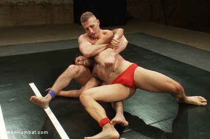 Photo number 1 from Roman Rivers vs Gianni Luca shot for Naked Kombat on Kink.com. Featuring Roman Rivers and Gianni Luca in hardcore BDSM & Fetish porn.
