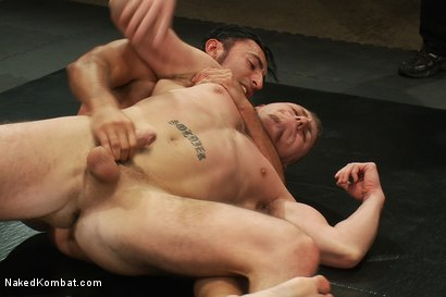 Photo number 7 from Roman Rivers vs Gianni Luca shot for Naked Kombat on Kink.com. Featuring Roman Rivers and Gianni Luca in hardcore BDSM & Fetish porn.