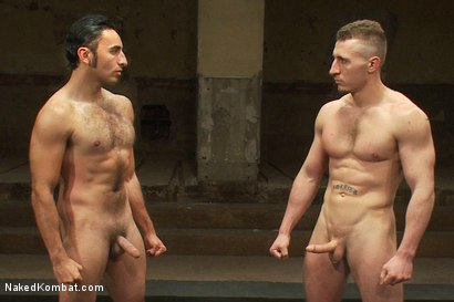 Photo number 14 from Roman Rivers vs Gianni Luca shot for Naked Kombat on Kink.com. Featuring Roman Rivers and Gianni Luca in hardcore BDSM & Fetish porn.