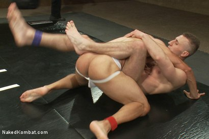 Photo number 4 from Roman Rivers vs Gianni Luca shot for Naked Kombat on Kink.com. Featuring Roman Rivers and Gianni Luca in hardcore BDSM & Fetish porn.