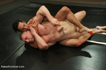 Photo number 10 from Roman Rivers vs Gianni Luca shot for Naked Kombat on Kink.com. Featuring Roman Rivers and Gianni Luca in hardcore BDSM & Fetish porn.