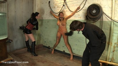Photo number 3 from The Destruction of Rain DeGrey shot for The Upper Floor on Kink.com. Featuring Rain DeGrey and Sophie Monroe in hardcore BDSM & Fetish porn.