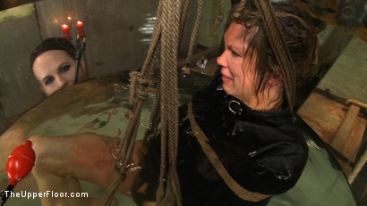 Photo number 22 from The Destruction of Rain DeGrey shot for The Upper Floor on Kink.com. Featuring Rain DeGrey and Sophie Monroe in hardcore BDSM & Fetish porn.