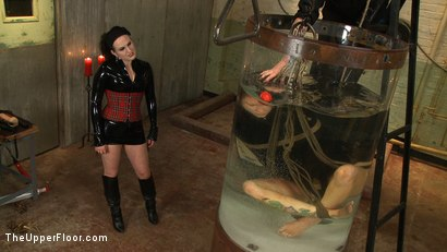Photo number 23 from The Destruction of Rain DeGrey shot for The Upper Floor on Kink.com. Featuring Rain DeGrey and Sophie Monroe in hardcore BDSM & Fetish porn.