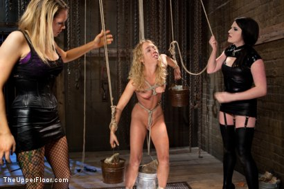 Photo number 14 from Nicki Blue's Destruction shot for The Upper Floor on Kink.com. Featuring Nicki Blue, Rain DeGrey and Sophie Monroe in hardcore BDSM & Fetish porn.