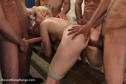 Photo number 8 from Locker Room Fantasy shot for Bound Gang Bangs on Kink.com. Featuring Dylan Ryan in hardcore BDSM & Fetish porn.