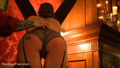 Photo number 4 from Saint Patrick's Day shot for The Upper Floor on Kink.com. Featuring Iona Grace, Lilla Katt and Nicki Blue in hardcore BDSM & Fetish porn.