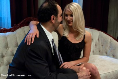 Photo number 1 from The Gold Digger shot for Sex And Submission on Kink.com. Featuring James Deen and Natasha Lyn in hardcore BDSM & Fetish porn.