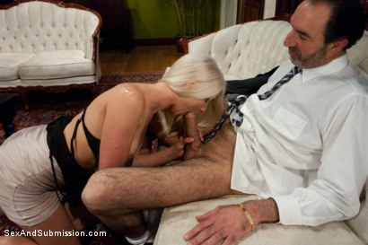 Photo number 2 from The Gold Digger shot for Sex And Submission on Kink.com. Featuring James Deen and Natasha Lyn in hardcore BDSM & Fetish porn.