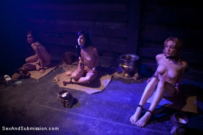 Photo number 1 from Vamp Episode 2: Sexual Suicide shot for Sex And Submission on Kink.com. Featuring James Deen, Lily LaBeau, Kristina Rose, Jessie Cox, Elise Graves and Iona Grace in hardcore BDSM & Fetish porn.