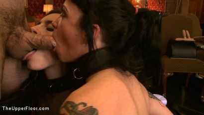 Photo number 10 from Service Day: Slaves get some cock shot for The Upper Floor on Kink.com. Featuring Iona Grace, Sparky Sin Claire and Maestro in hardcore BDSM & Fetish porn.