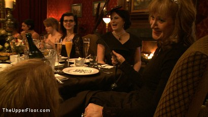 Photo number 4 from Sophie's Tea Party shot for The Upper Floor on Kink.com. Featuring Iona Grace, Sophie Monroe, Nicki Blue and Sparky Sin Claire in hardcore BDSM & Fetish porn.