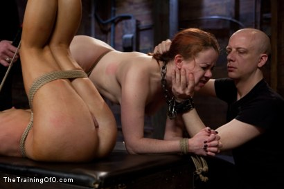 Photo number 14 from Day 4 - kitten and taters<br>Sexual Training for the Trainees shot for The Training Of O on Kink.com. Featuring Lilla Katt, Nicki Blue and Mister Torn in hardcore BDSM & Fetish porn.
