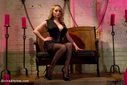 Photo number 1 from Corrupting Choirboy: Episode 1 shot for Divine Bitches on Kink.com. Featuring Aiden Starr and Jesse Carl in hardcore BDSM & Fetish porn.