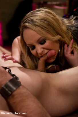 Photo number 14 from Corrupting Choirboy: Episode 1 shot for Divine Bitches on Kink.com. Featuring Aiden Starr and Jesse Carl in hardcore BDSM & Fetish porn.