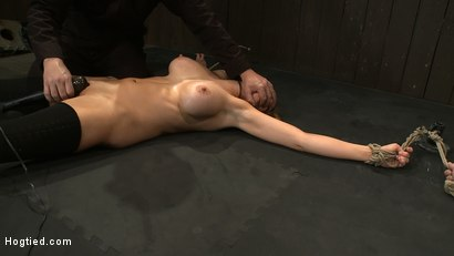 Photo number 4 from ORGASMAGEDDON: Part 1/4<br>The beginning of 2 girls who will almost literally be orgasmed to death. shot for Hogtied on Kink.com. Featuring Felony, Isis Love, Rain DeGrey and Princess Donna Dolore in hardcore BDSM & Fetish porn.