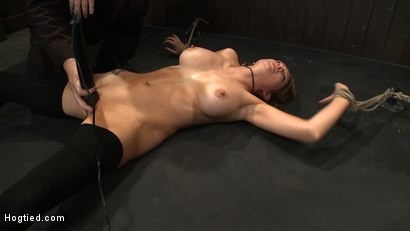 Photo number 9 from ORGASMAGEDDON: Part 1/4<br>The beginning of 2 girls who will almost literally be orgasmed to death. shot for Hogtied on Kink.com. Featuring Felony, Isis Love, Rain DeGrey and Princess Donna Dolore in hardcore BDSM & Fetish porn.