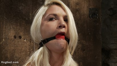 Photo number 5 from Local amateur girl in her first hardcore bondage shoot  Reverse Prayer, flogged her perfect ass. shot for hogtied on Kink.com. Featuring Natasha Lyn in hardcore BDSM & Fetish porn.