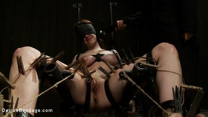 Photo number 13 from She Deserves it shot for Device Bondage on Kink.com. Featuring Iona Grace and Isis Love in hardcore BDSM & Fetish porn.