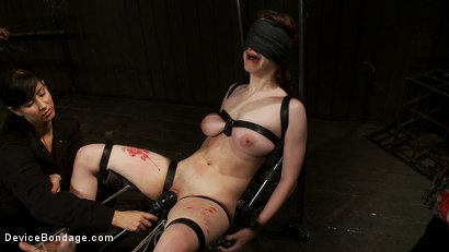 Photo number 9 from She Deserves it shot for Device Bondage on Kink.com. Featuring Iona Grace and Isis Love in hardcore BDSM & Fetish porn.