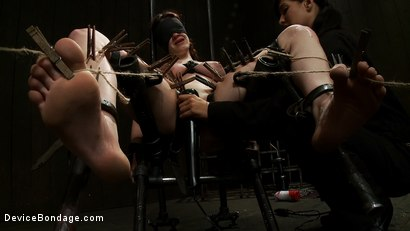 Photo number 7 from She Deserves it shot for Device Bondage on Kink.com. Featuring Iona Grace and Isis Love in hardcore BDSM & Fetish porn.