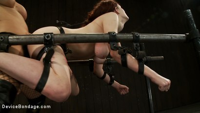 Photo number 12 from This Red Head Can Take a Pounding shot for Device Bondage on Kink.com. Featuring Iona Grace and Isis Love in hardcore BDSM & Fetish porn.