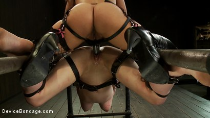 Photo number 5 from This Red Head Can Take a Pounding shot for Device Bondage on Kink.com. Featuring Iona Grace and Isis Love in hardcore BDSM & Fetish porn.