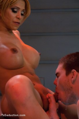 Photo number 10 from Attack of the Ts Clones: Cop taken to a Sci-fi lab and fucked by Ts COCK shot for TS Seduction on Kink.com. Featuring Jessica Host and Hayden Russo in hardcore BDSM & Fetish porn.